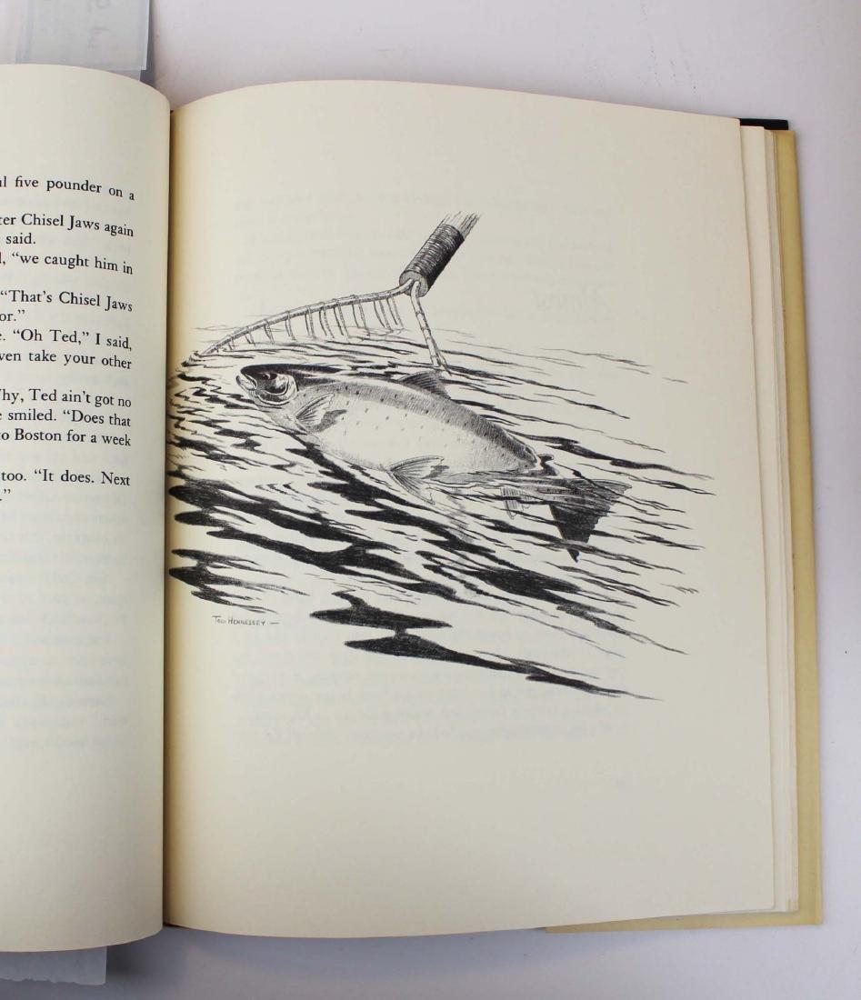 five Dana S Lamb books on fly fishing - 10