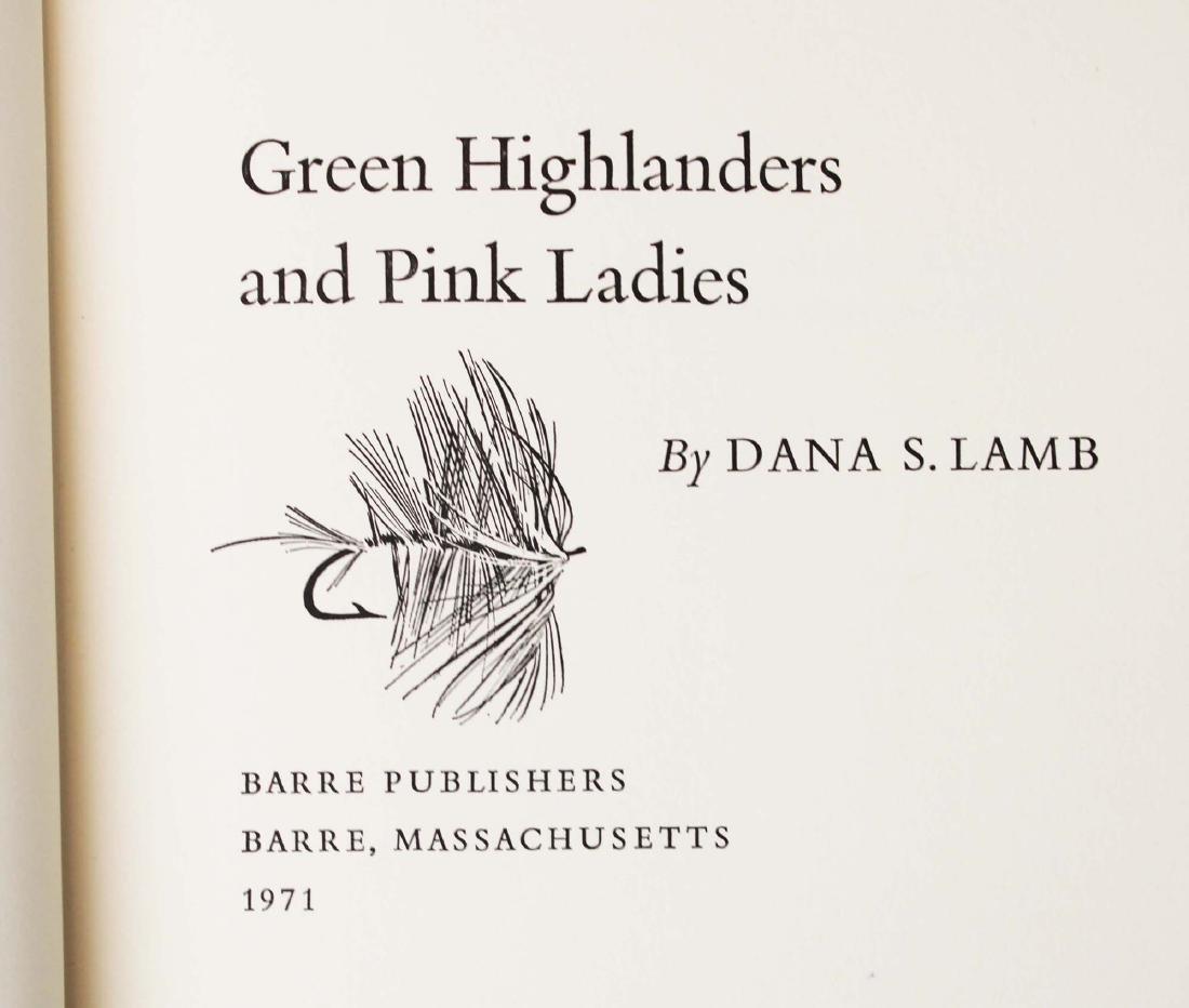 five Dana S Lamb books on fly fishing - 4