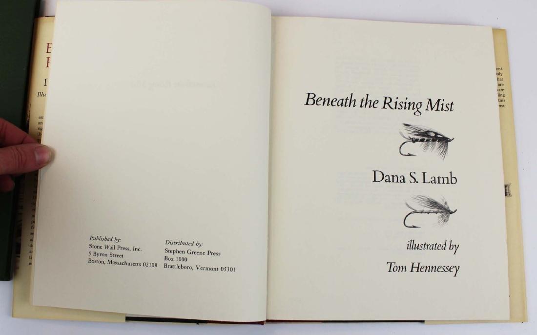 five Dana S Lamb books on fly fishing - 5