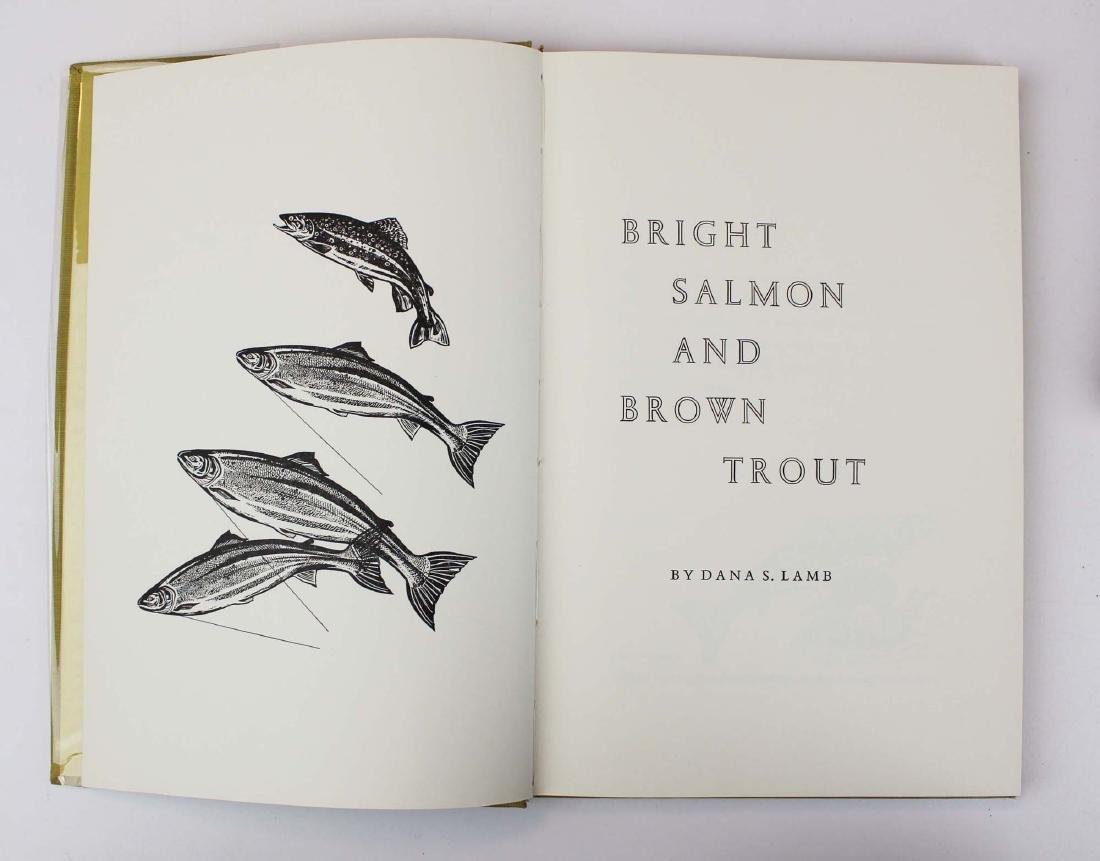 five Dana S Lamb books on fly fishing - 6