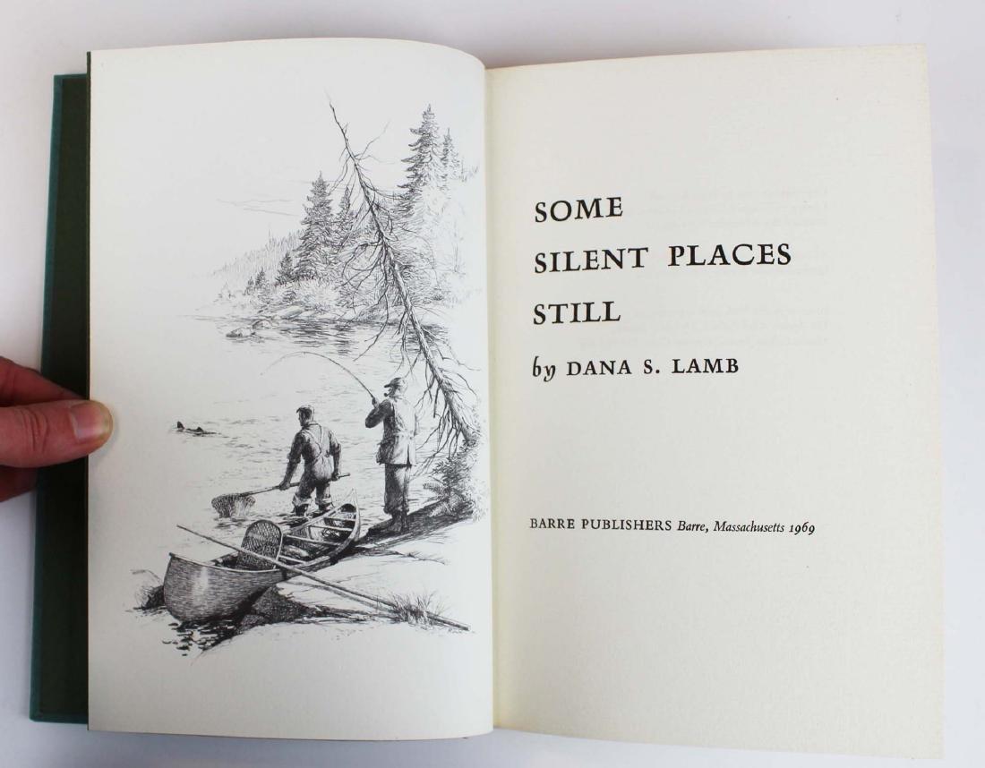 five Dana S Lamb books on fly fishing - 9