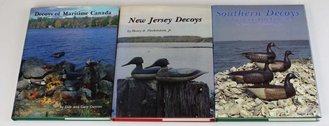 three good decoy maker reference books