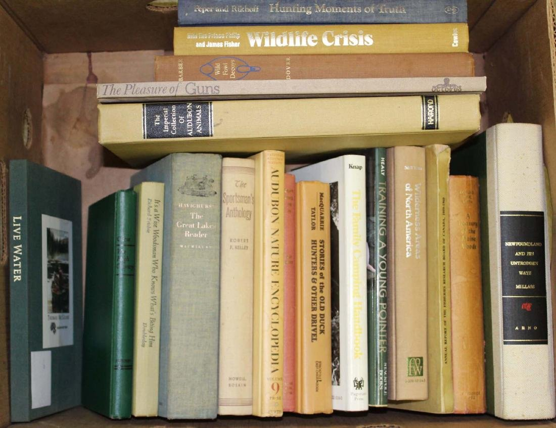 19 books on hunting & the outdoors