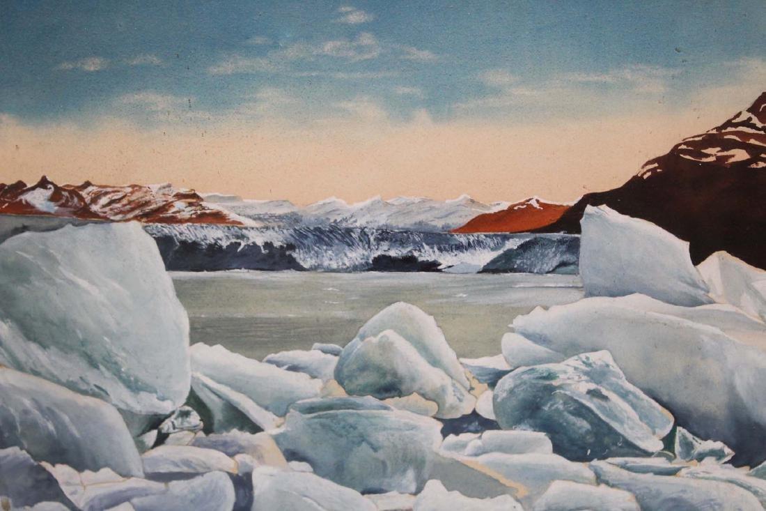 mid 20th c Arthur Boose watercolor - 3
