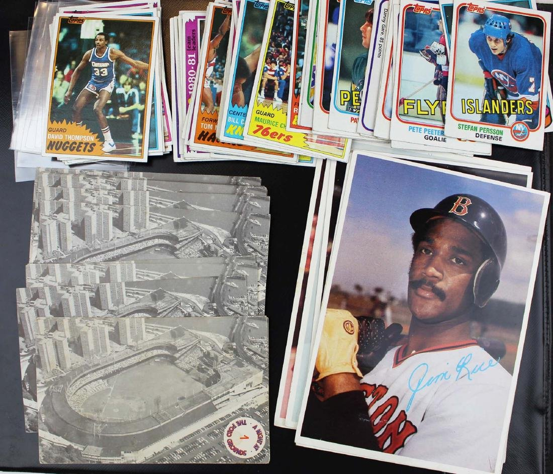 mixed group of sports cards - 2