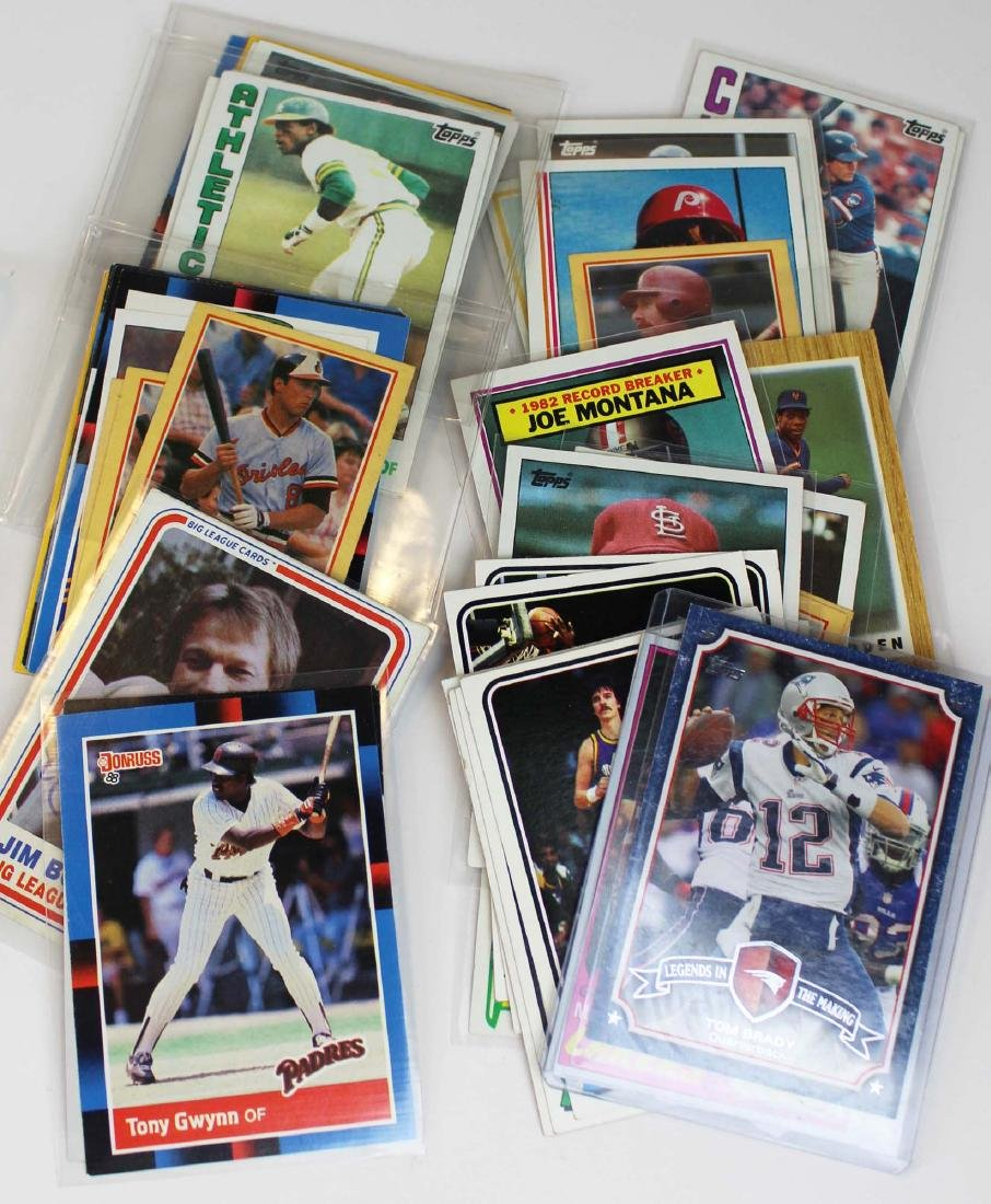 mixed group of sports cards - 3