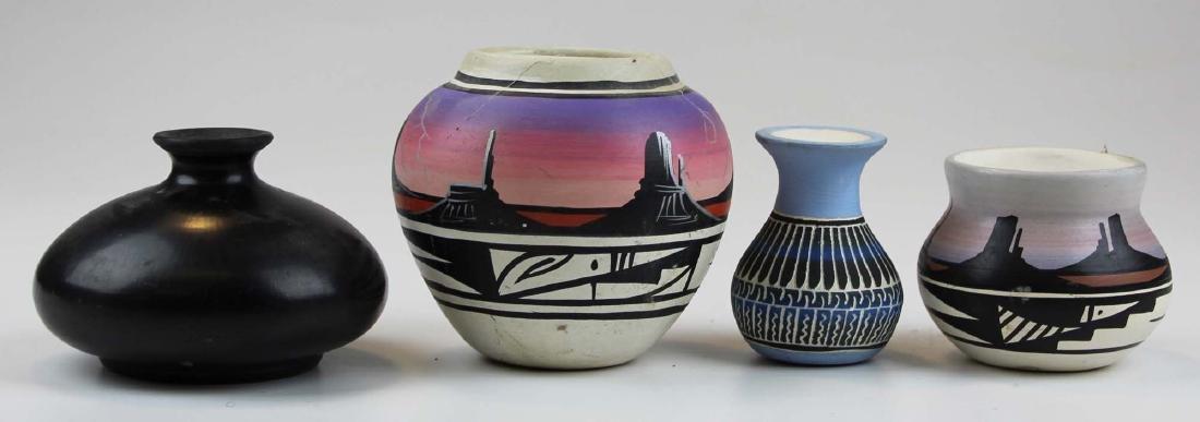 4 pcs Southwest Native American pottery