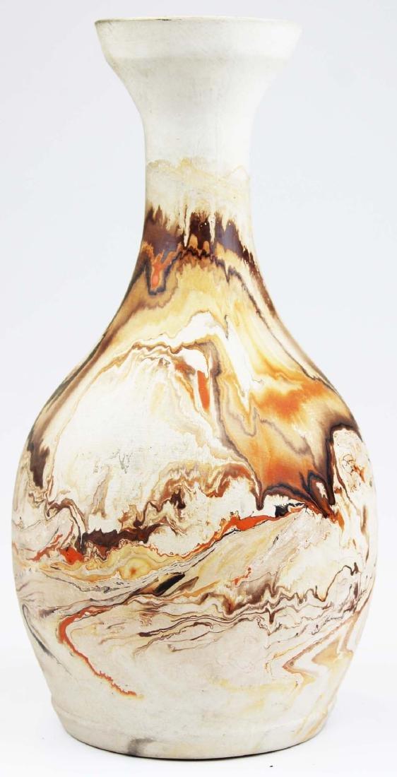 Nemadji  Pottery Southwest style vase