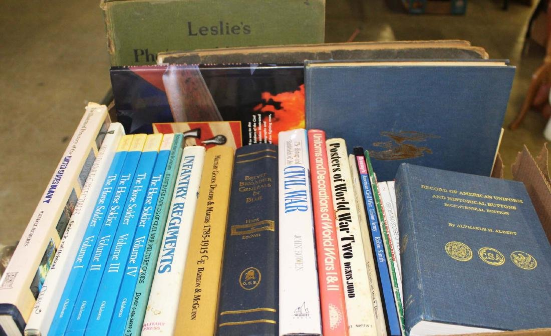 CW, WWI, WWII military reference books - 2