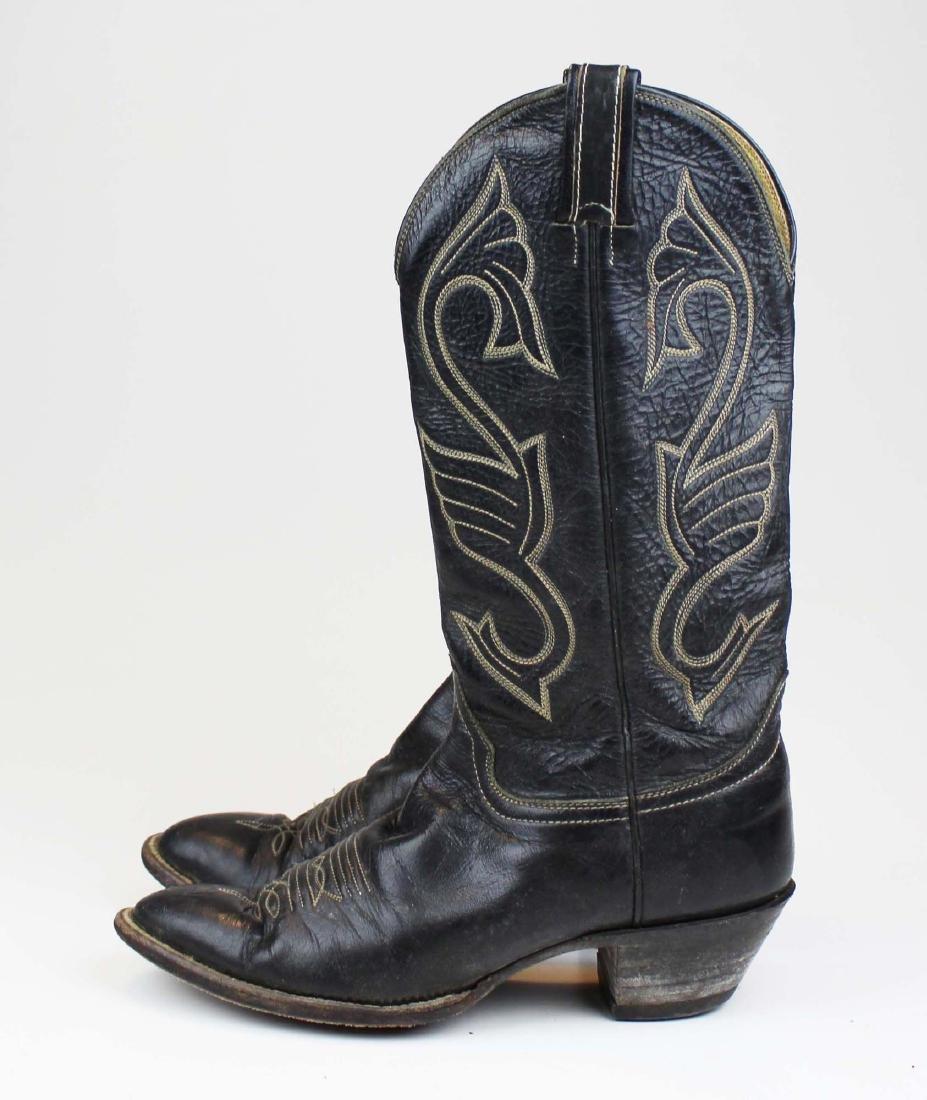 vintage Hondo cowboy boots, spurs - 6