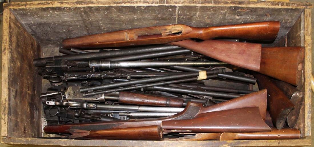rifle & shotgun barrels (non-functioning)