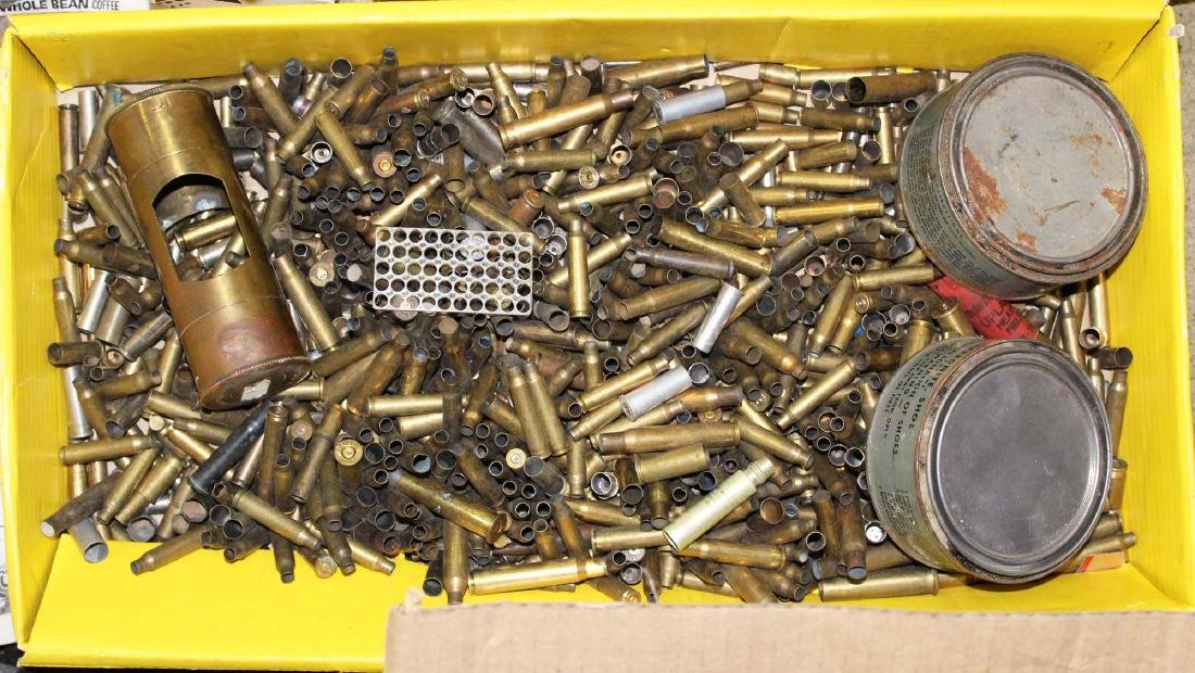 brass for reloading, misc gun gear - 3
