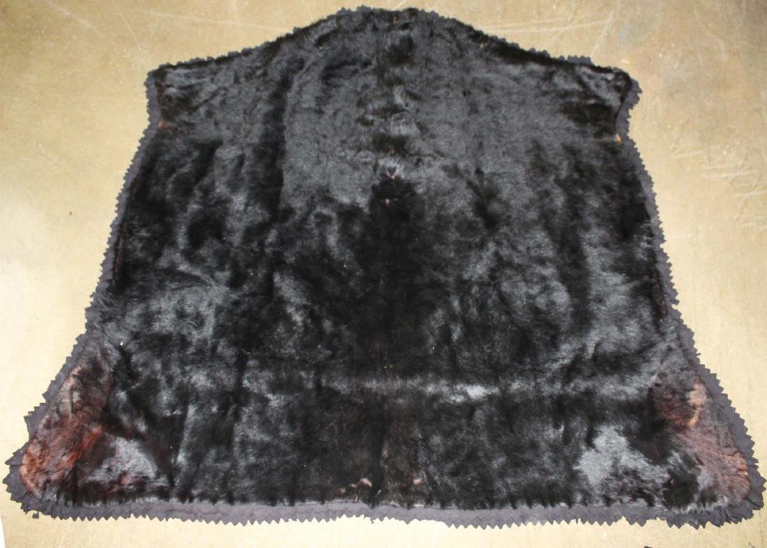 vintage Crosley Frisian bear skin rug