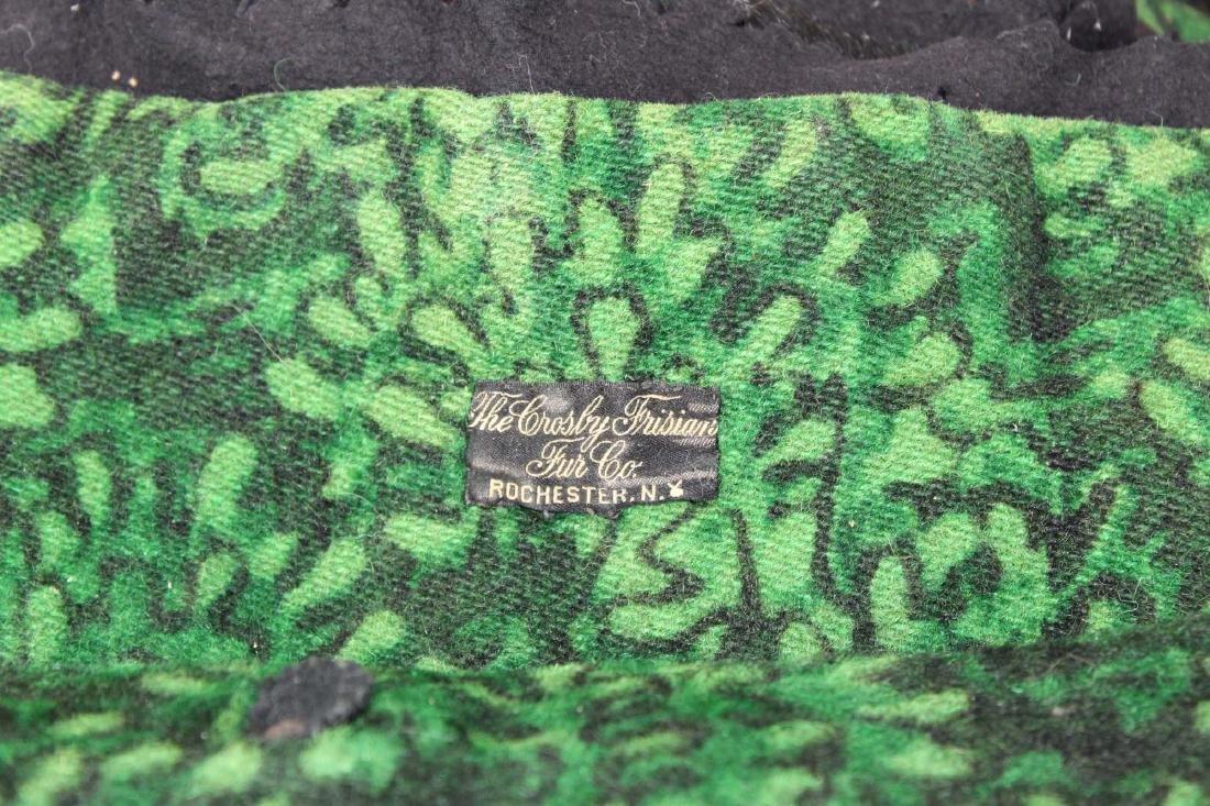 vintage Crosley Frisian bear skin rug - 5