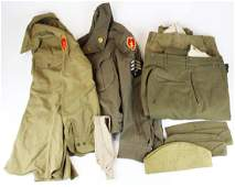 two WWII US Army 25th Infantry uniform