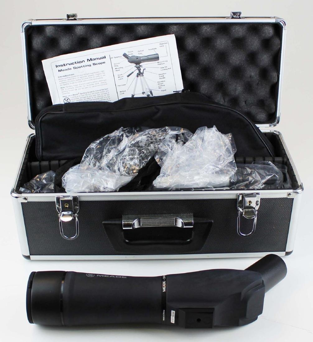 Meade 20-60x60mm spotting scope w/ case