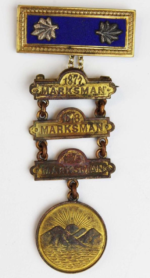 Indian Wars era medals, US battlefield relic - 2