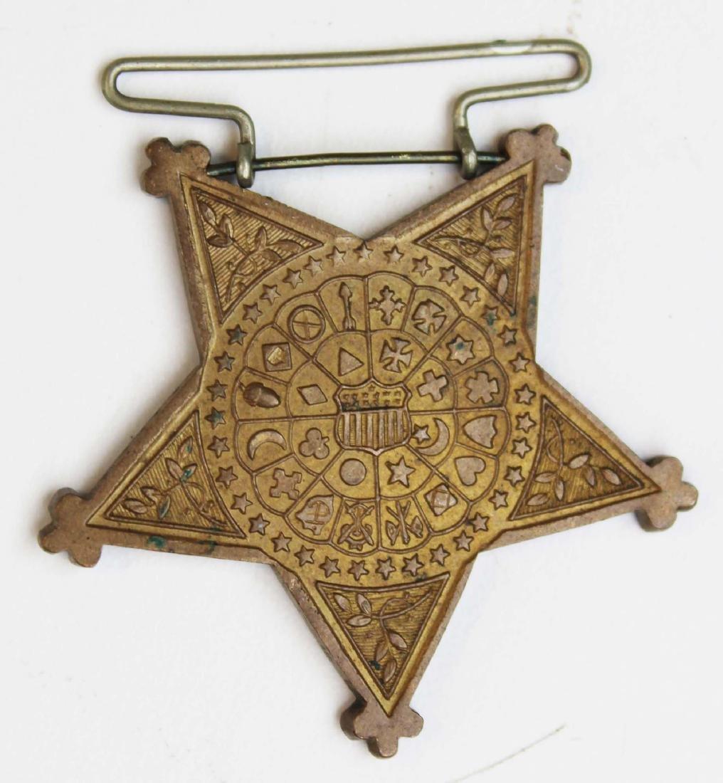 Indian Wars era medals, US battlefield relic - 5