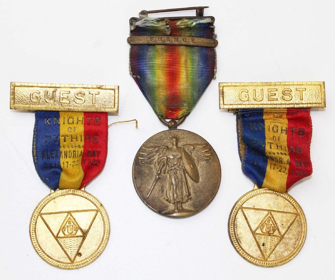 WWI service medal, discharge