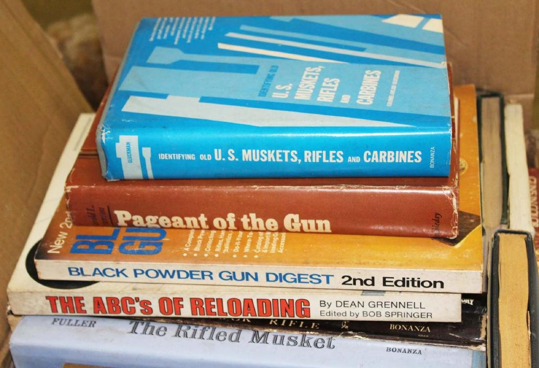 books on guns, reloading - 2