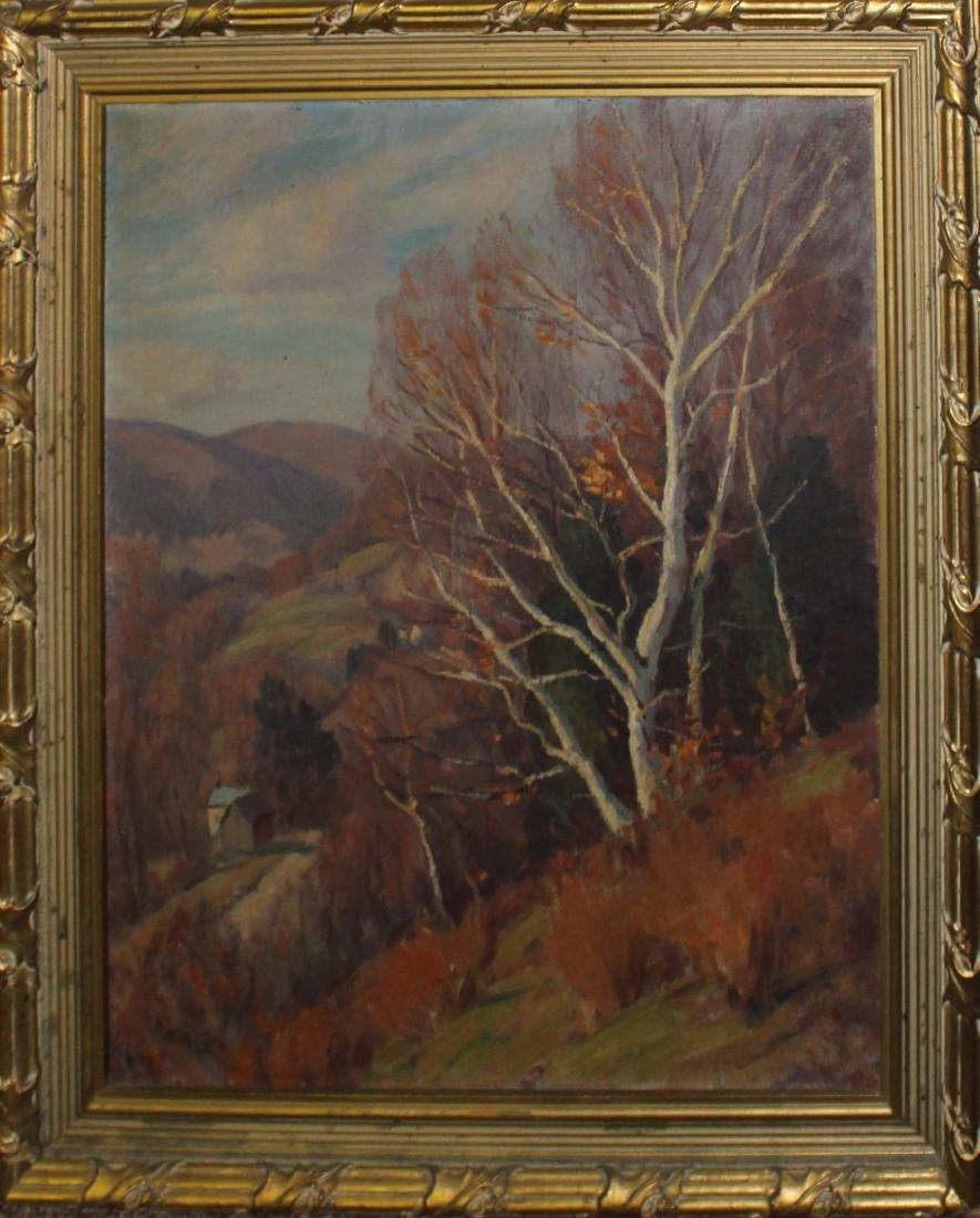 Thomas Curtin (VT 1899-1977) Birch on a Hillside