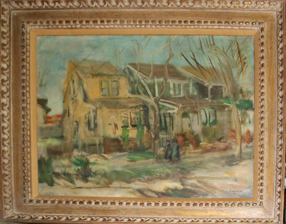Maurice Sievan (AM 1898-1981) The Stroll