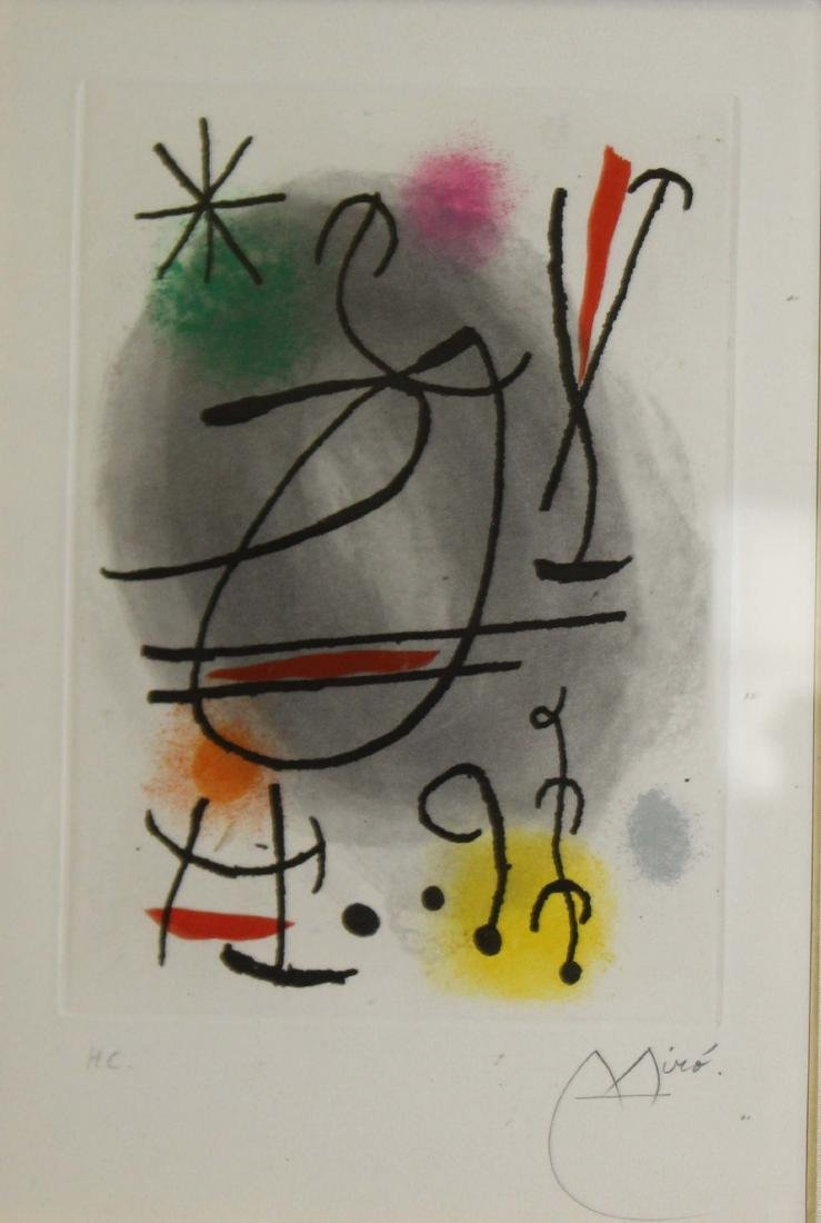 Joan Miro (SP 1893-1983) Callioux
