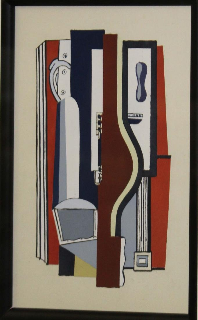 By Fernand Leger (FR 1881-1955) L'Accordion