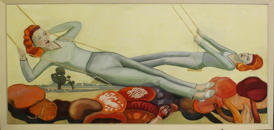 Rosa Loy (DE 1958-) The Swing
