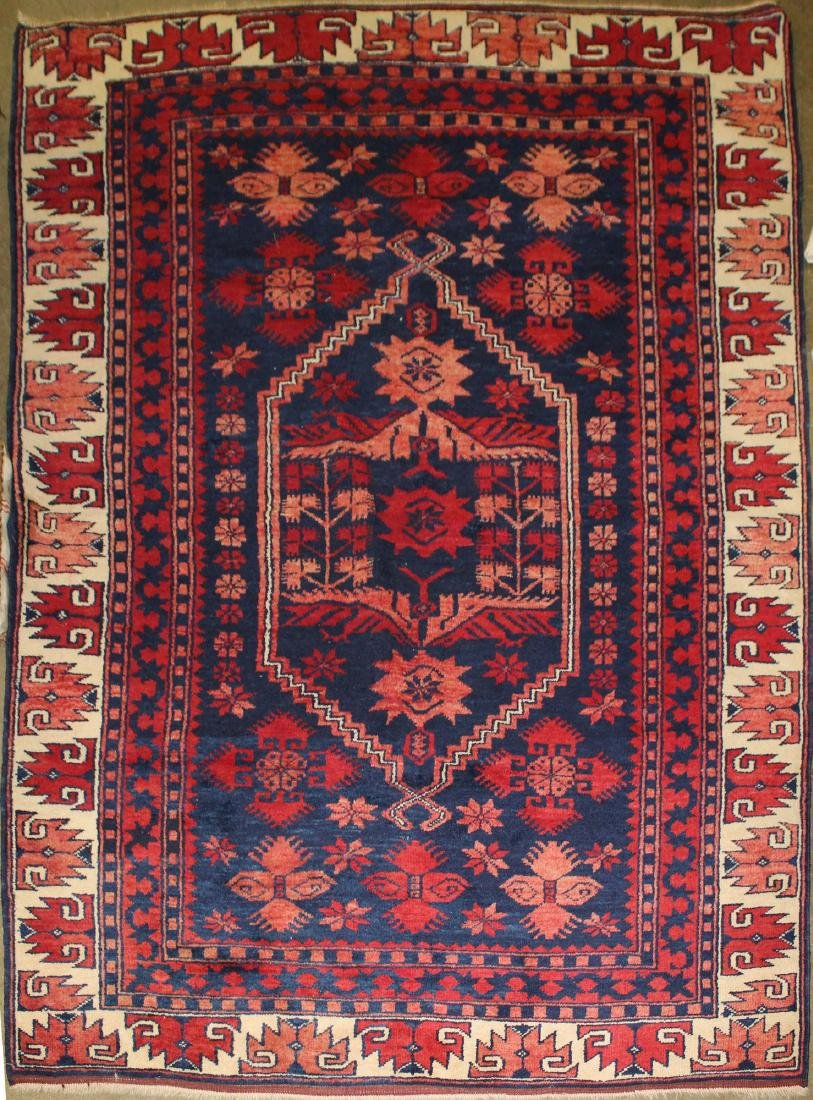 mid 20th c Turkish Yacebider area rug