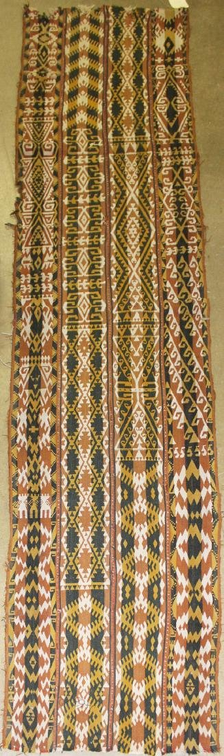 late 19th c Uzbek kilim section