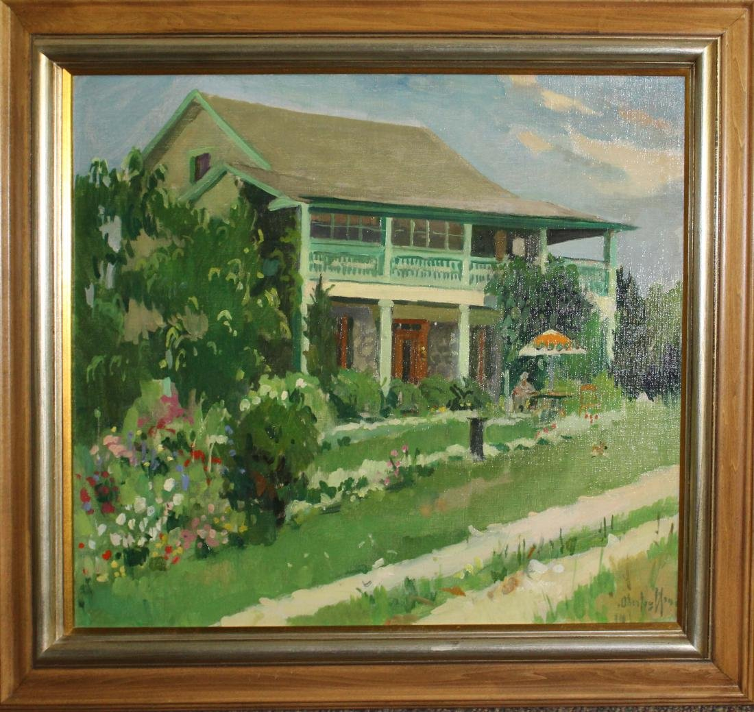 George Oberteuffer (MA 1878-1940) Green House