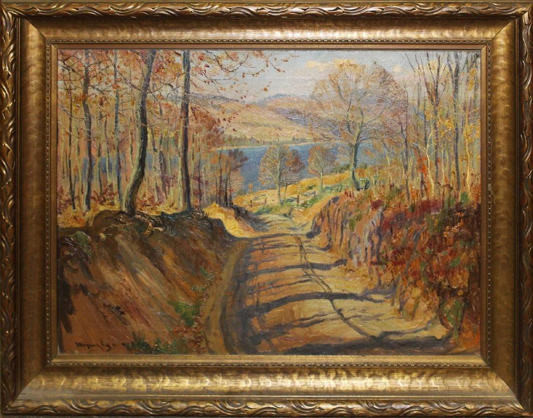 Mogens Ege (DK 1892-1946) Fall Road