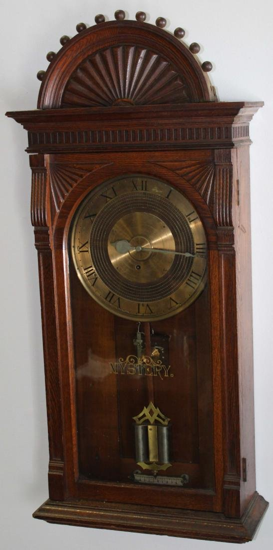 Ca. 1900 mystery regulator clock