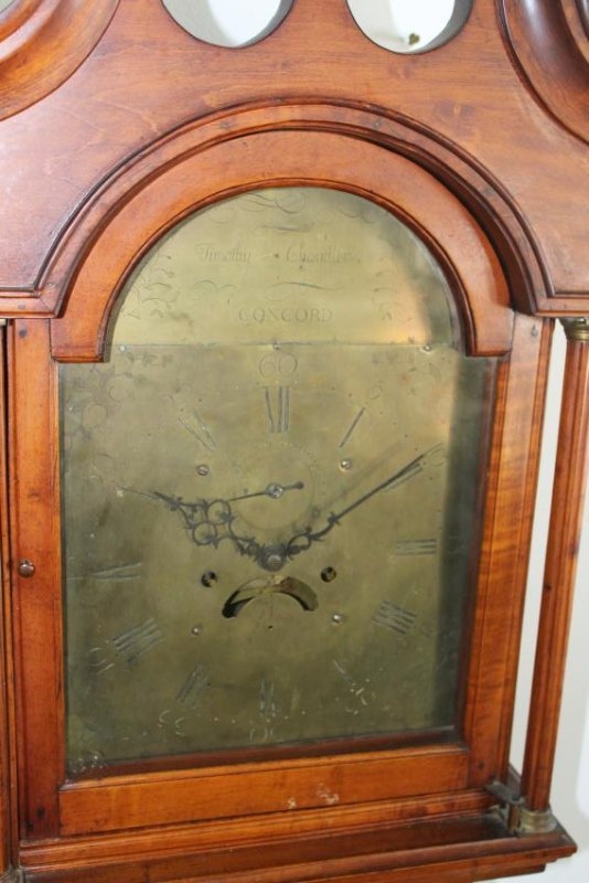 Timothy Chandler Concord NH tall case clock
