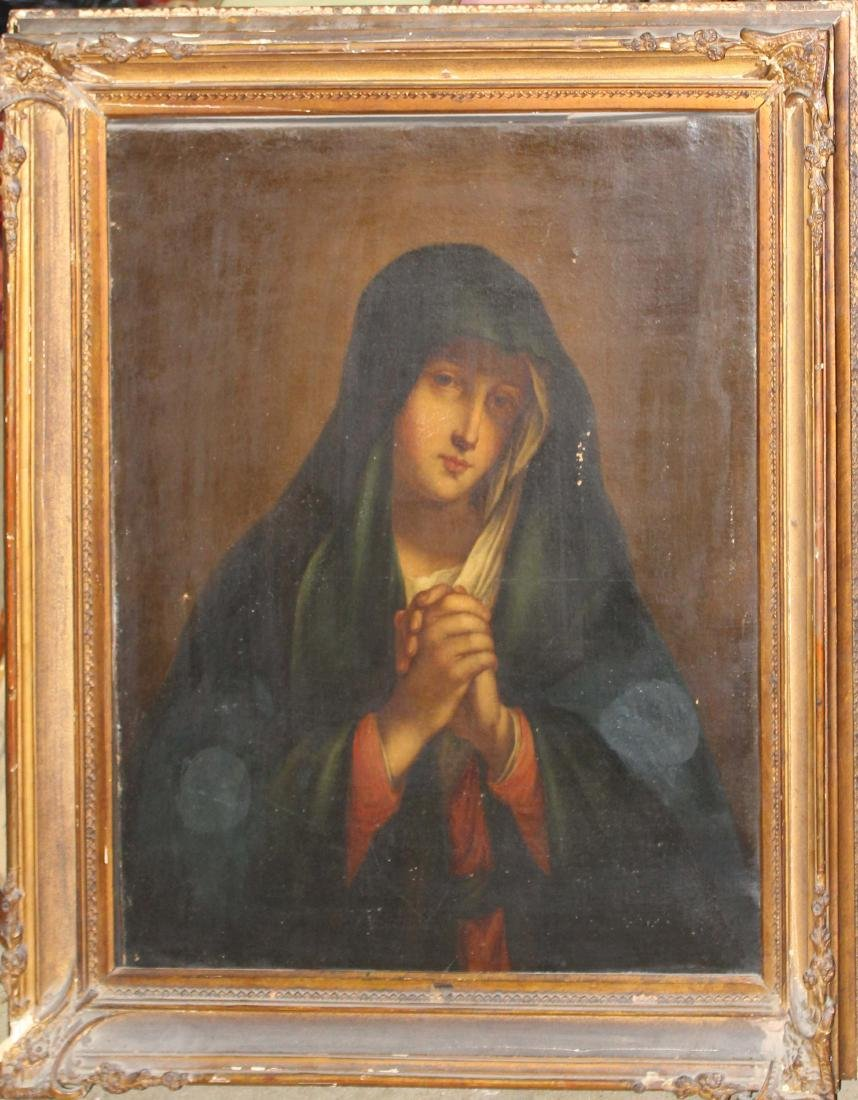 Early 19th c Italian school devotional painting