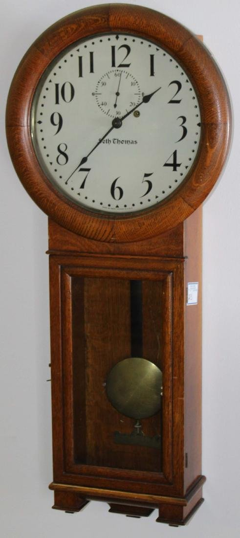 Seth Thomas No 2 long drop regulator clock