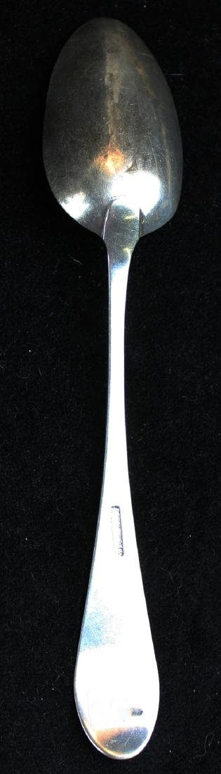 18th c. Richardson & Williamson silver spoon
