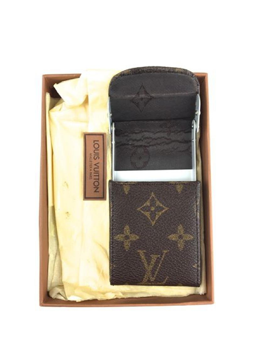 Louis Vuitton card case.