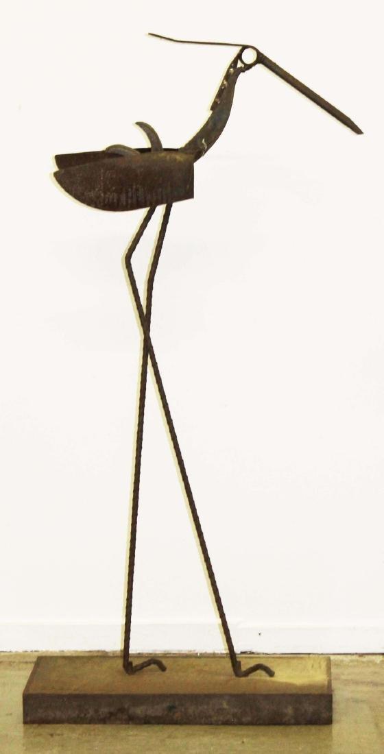 Jack Chase VT tall bird sculpture