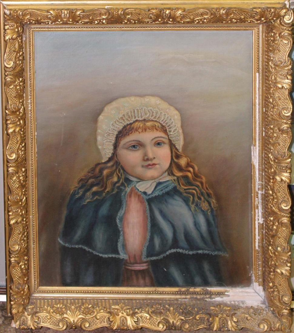 American school portrait of a girl