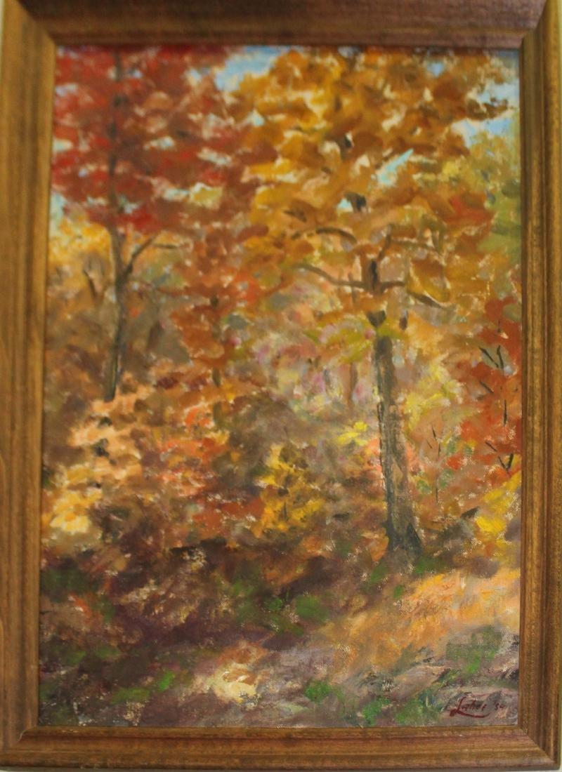 Arnold Wharburton Lahee (VT 1888-1976) Autumn