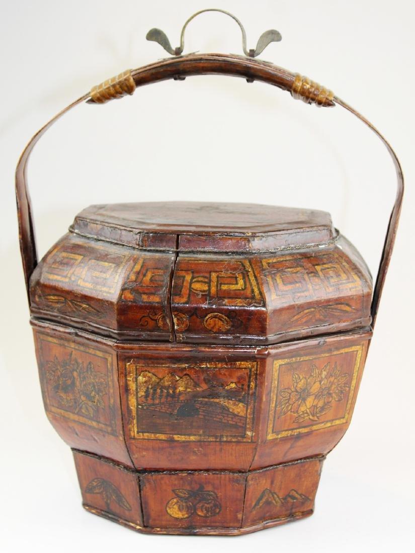 early 20th c Chinese wedding box