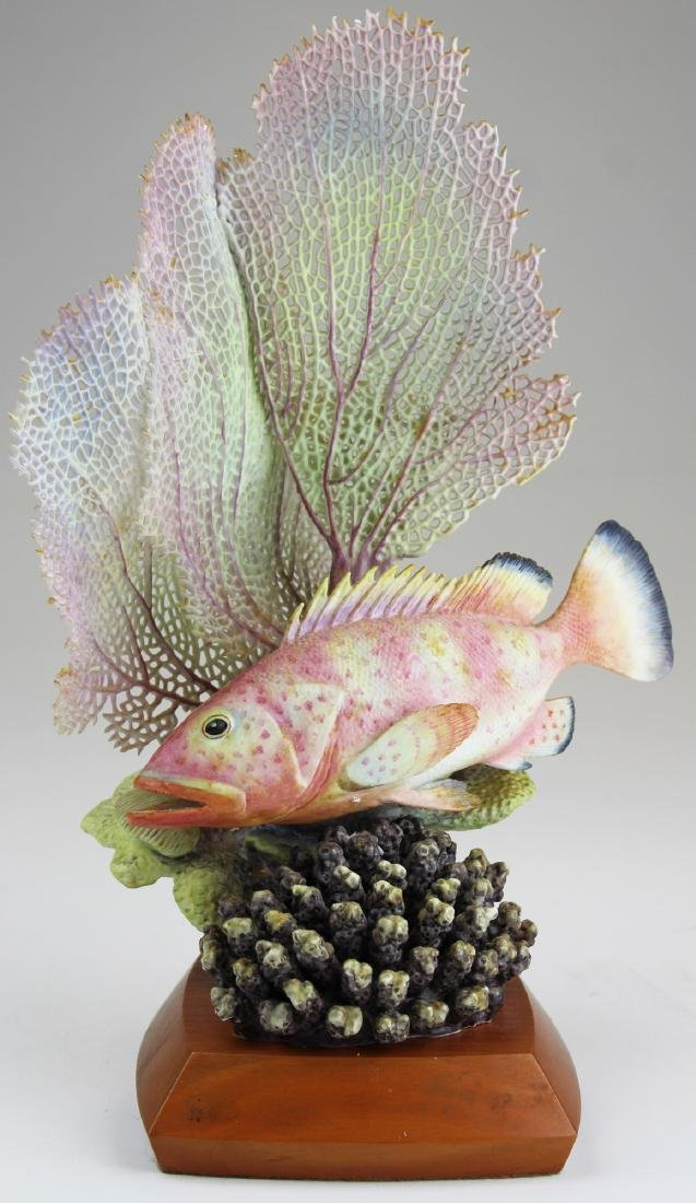 Royal Worcester Ronald Van Ruyckevelt fish