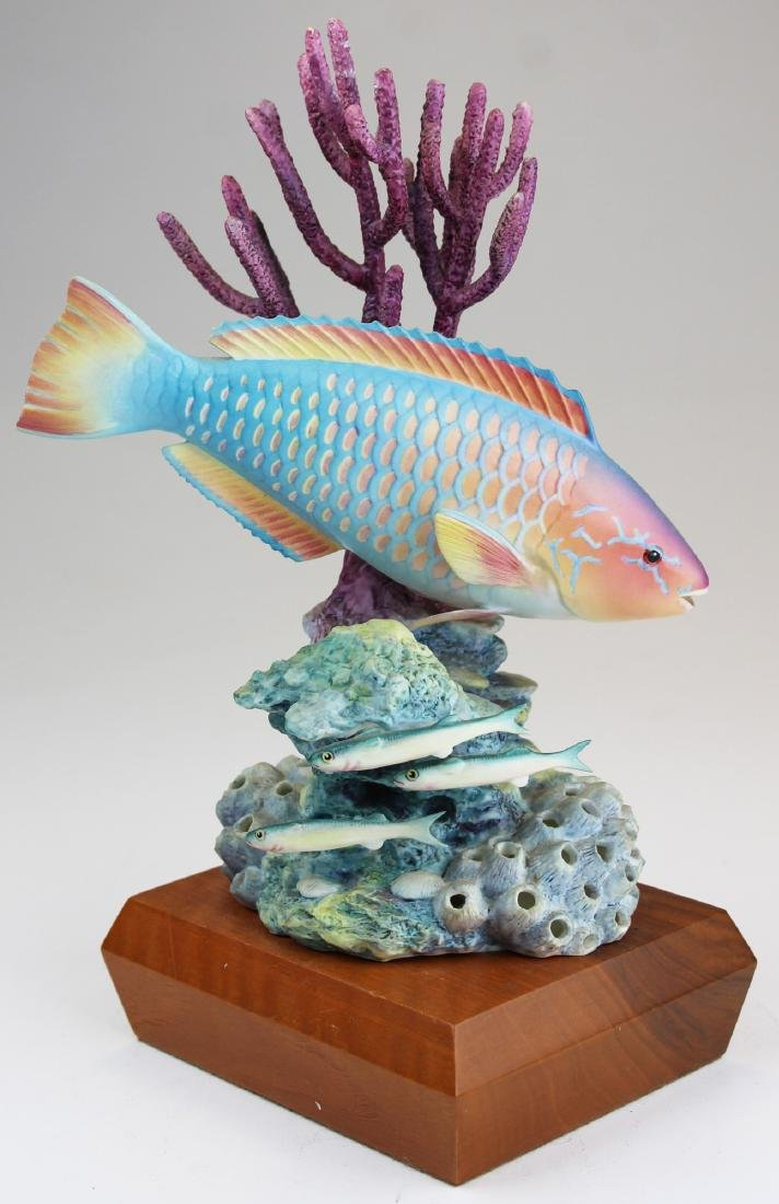 Royal Worcester Ronald Van Ruyckevelt fish