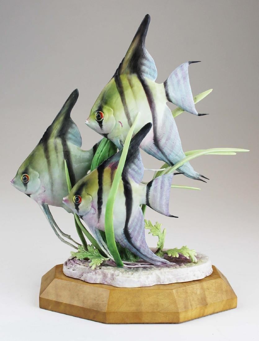 Royal Worcester Doris Lindner fish figurine