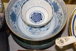 lot of mixed china incl. Ginori, Ironstone tureen