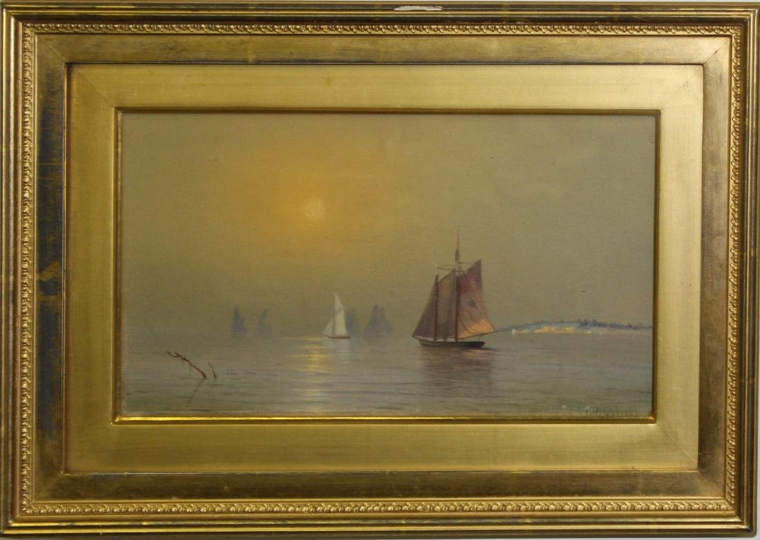 William W Cowell (AM 1856-1910) Boston Harbor