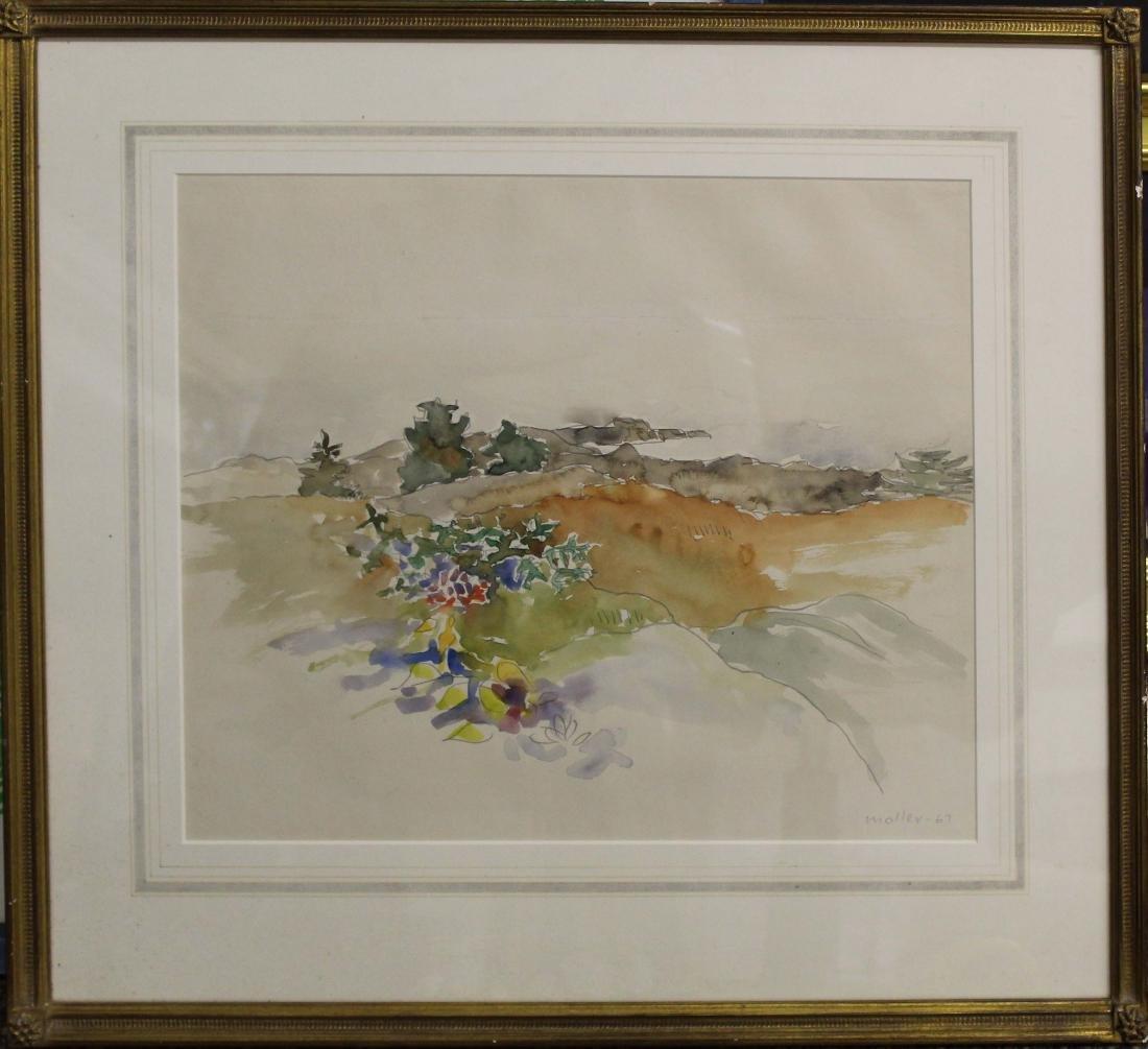 Hans Moller (AM 1905-2000) Monhegan Coast