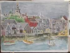 Eugenie Gershoy (AM 1901-1983) Nantucket